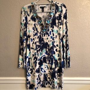 BOSTON PROPER Andrea Behar Dress